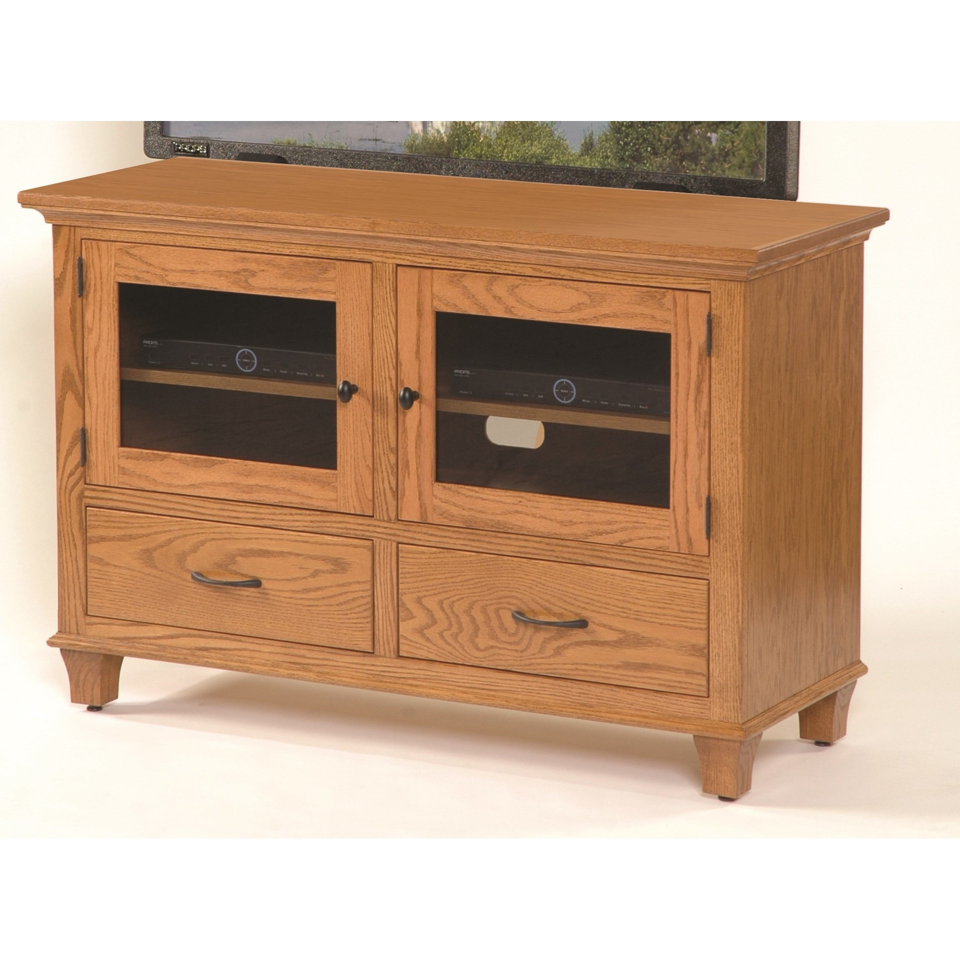 """Entertainment Bourten 48"""" TV Stand by INTEG Wood Products at Saugerties Furniture Mart"""
