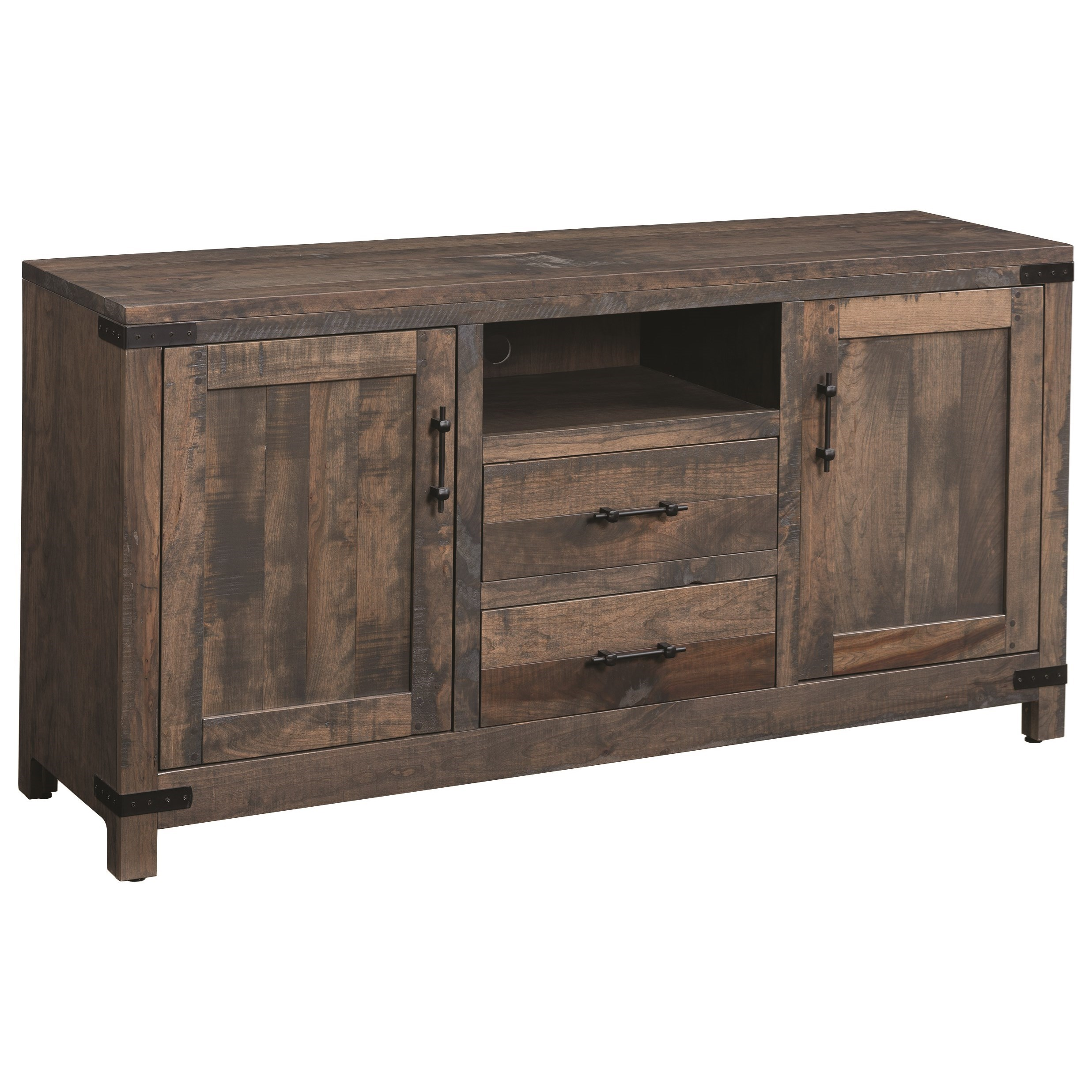 Entertainment Cascade TV Stand by INTEG Wood Products at Saugerties Furniture Mart