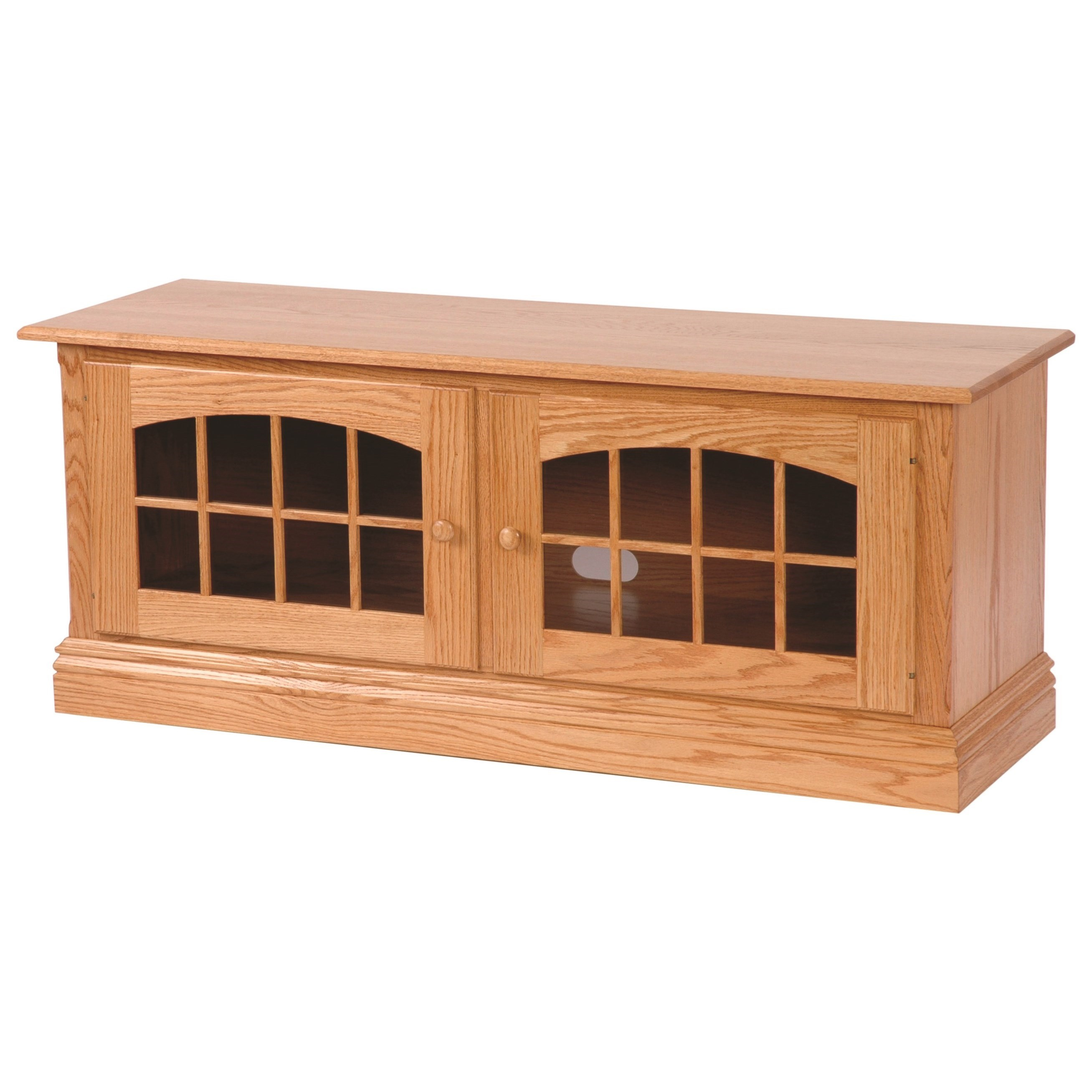 """Entertainment Rockford 54"""" TV Stand by INTEG Wood Products at Saugerties Furniture Mart"""