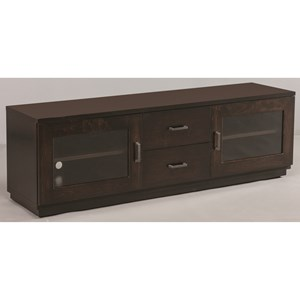 Venice TV Stand with Adjustable Shelves
