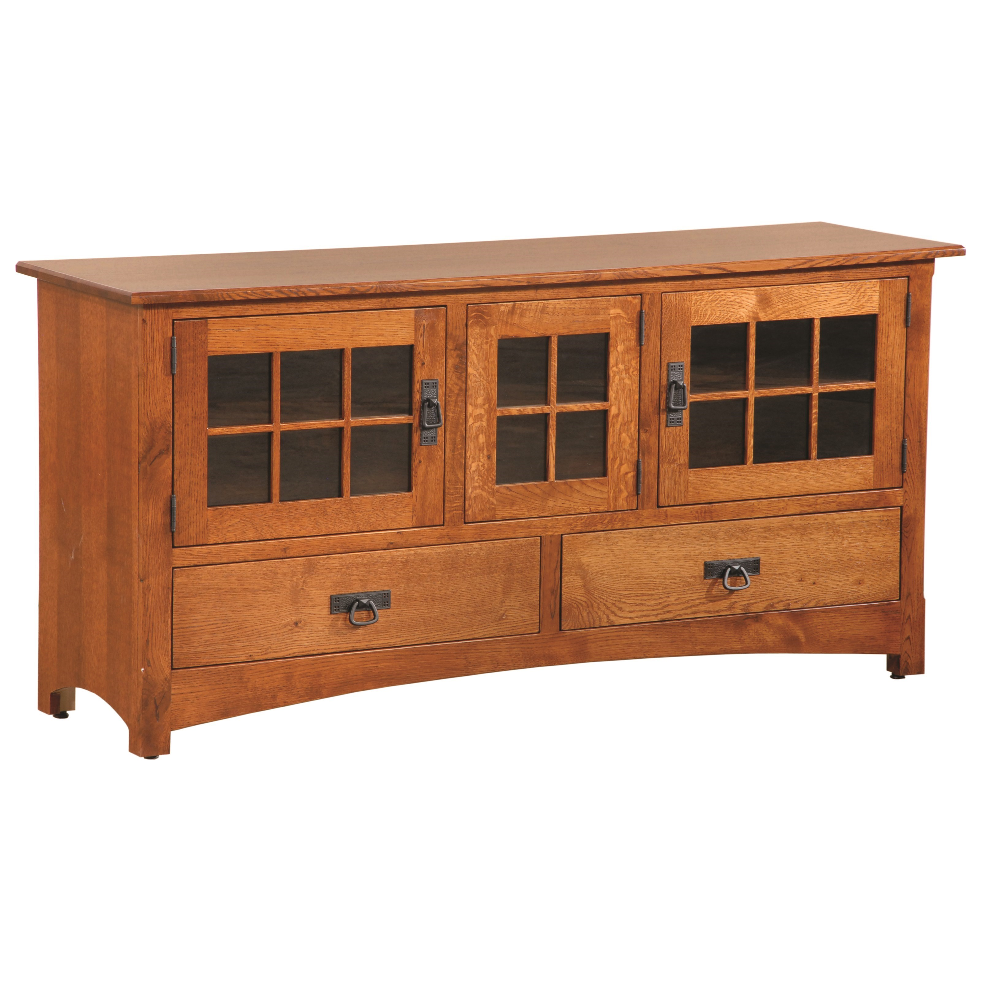 """Entertainment Winchester 63"""" TV Stand by INTEG Wood Products at Saugerties Furniture Mart"""