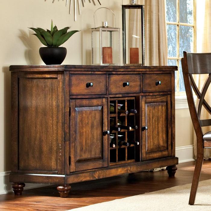 """River Run 58"""" Wine Server by Belfort Select at Belfort Furniture"""