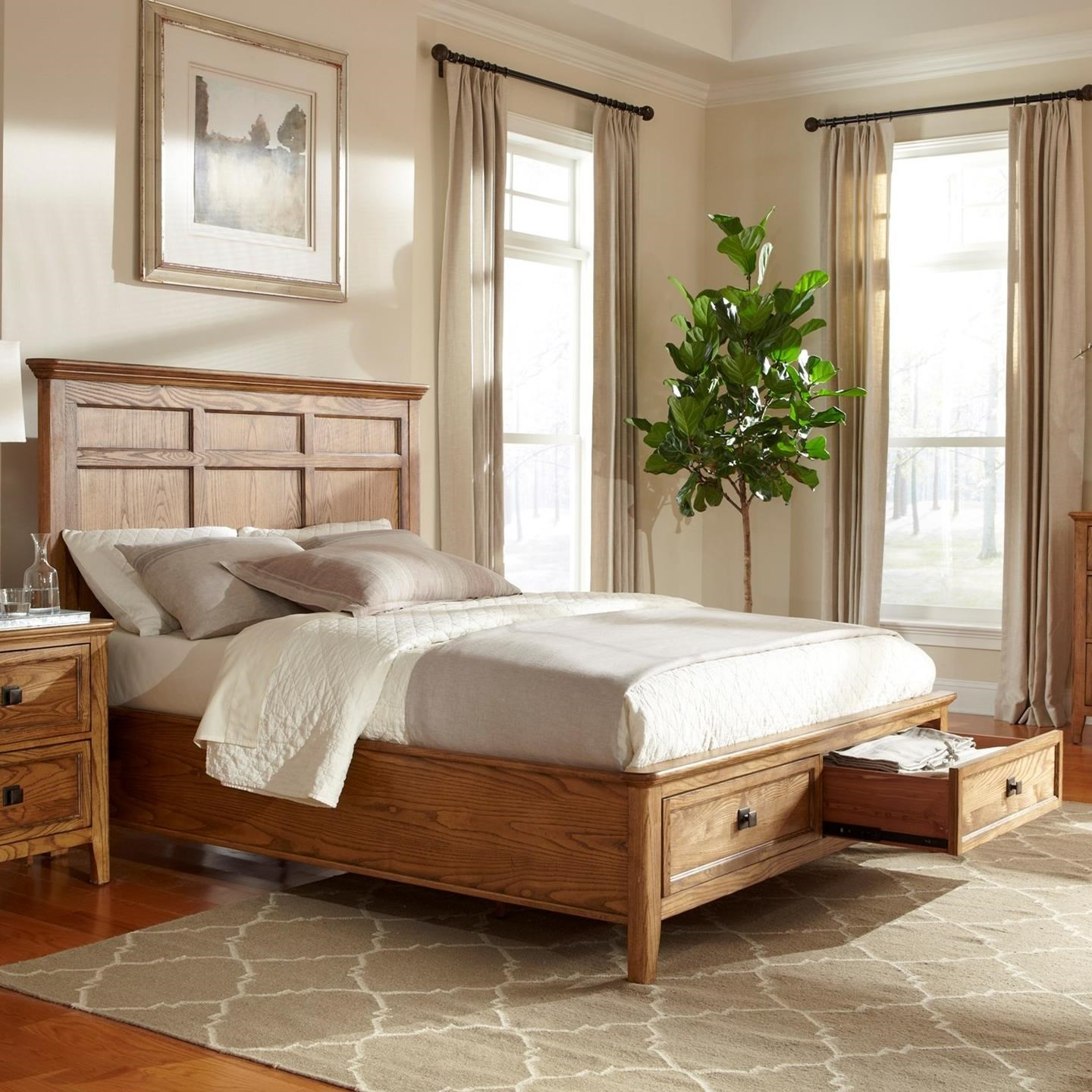 Alta Queen Storage Bed by Intercon at Fisher Home Furnishings