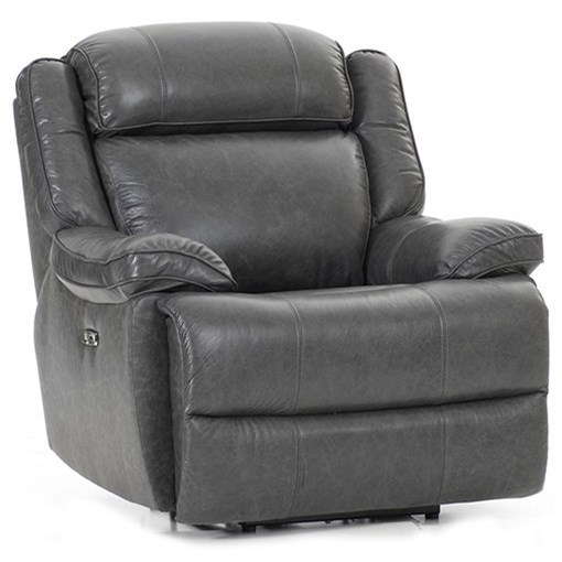 Avalon Dual Power Recliner by Intercon at Fisher Home Furnishings