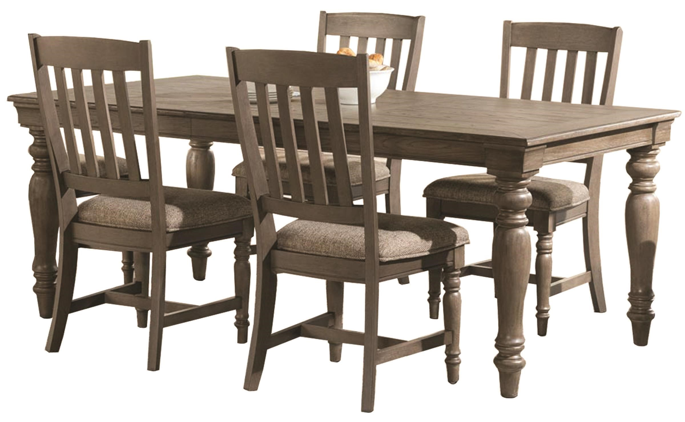 5 Piece Table and Chair Set at Sadler's Home Furnishings