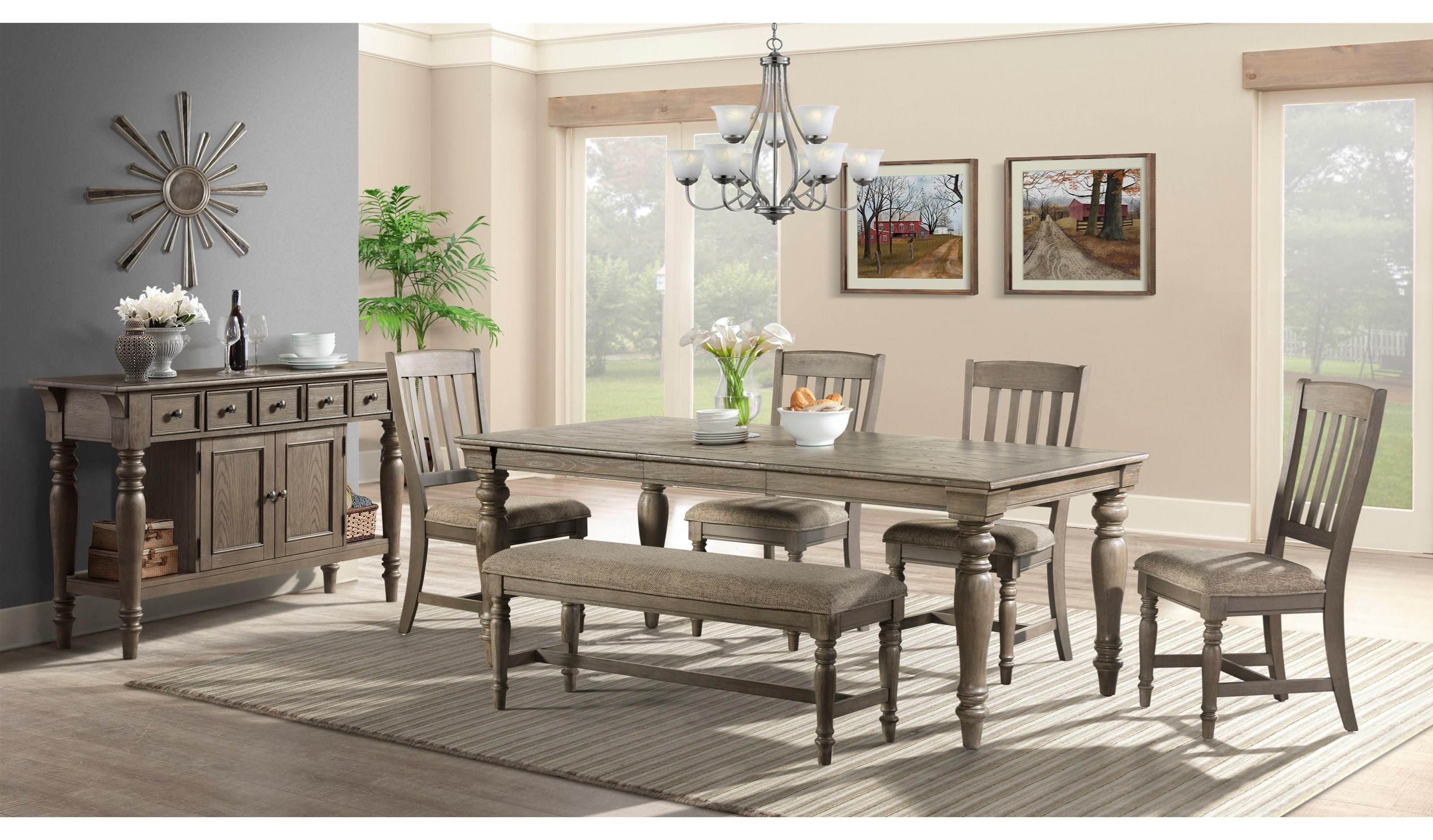 Balboa Park  5 Piece Dining Set by Intercon at Darvin Furniture