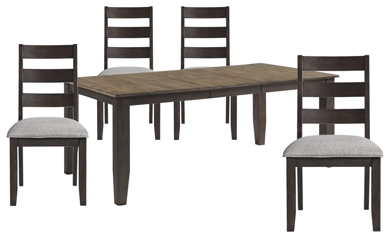 Beacon Table and 4 Chair Set by Sussex Bay at Johnny Janosik