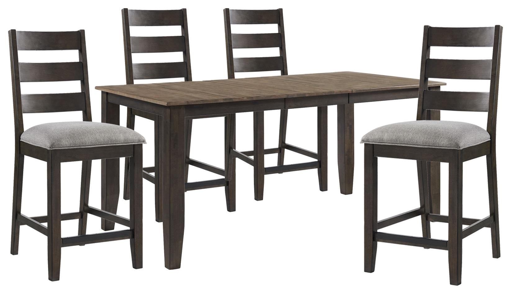 Beacon Counter Height Table and 4 Upholstered Chair by Sussex Bay at Johnny Janosik