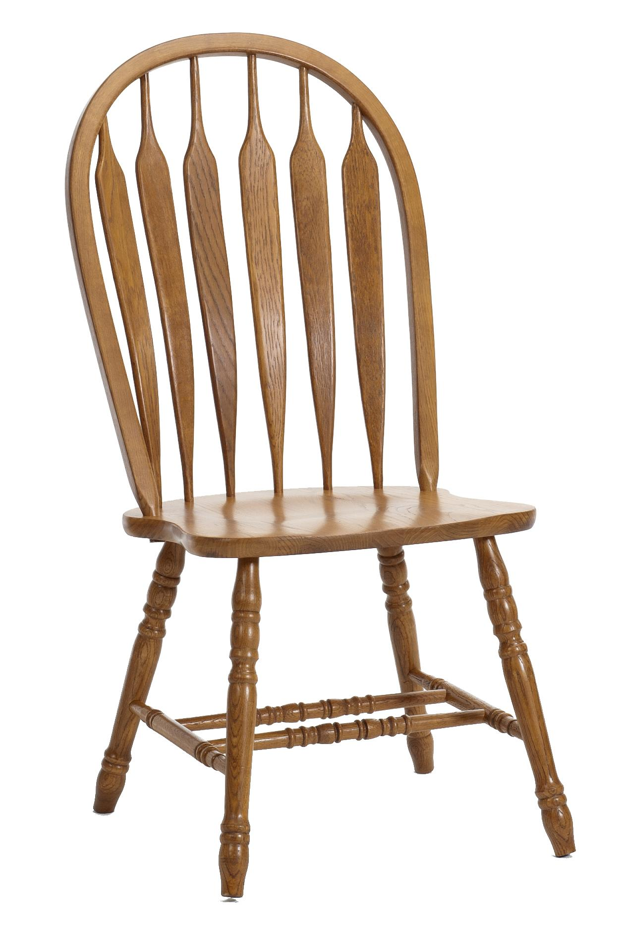 Classic Oak Dining Side Chair by Intercon at Dinette Depot