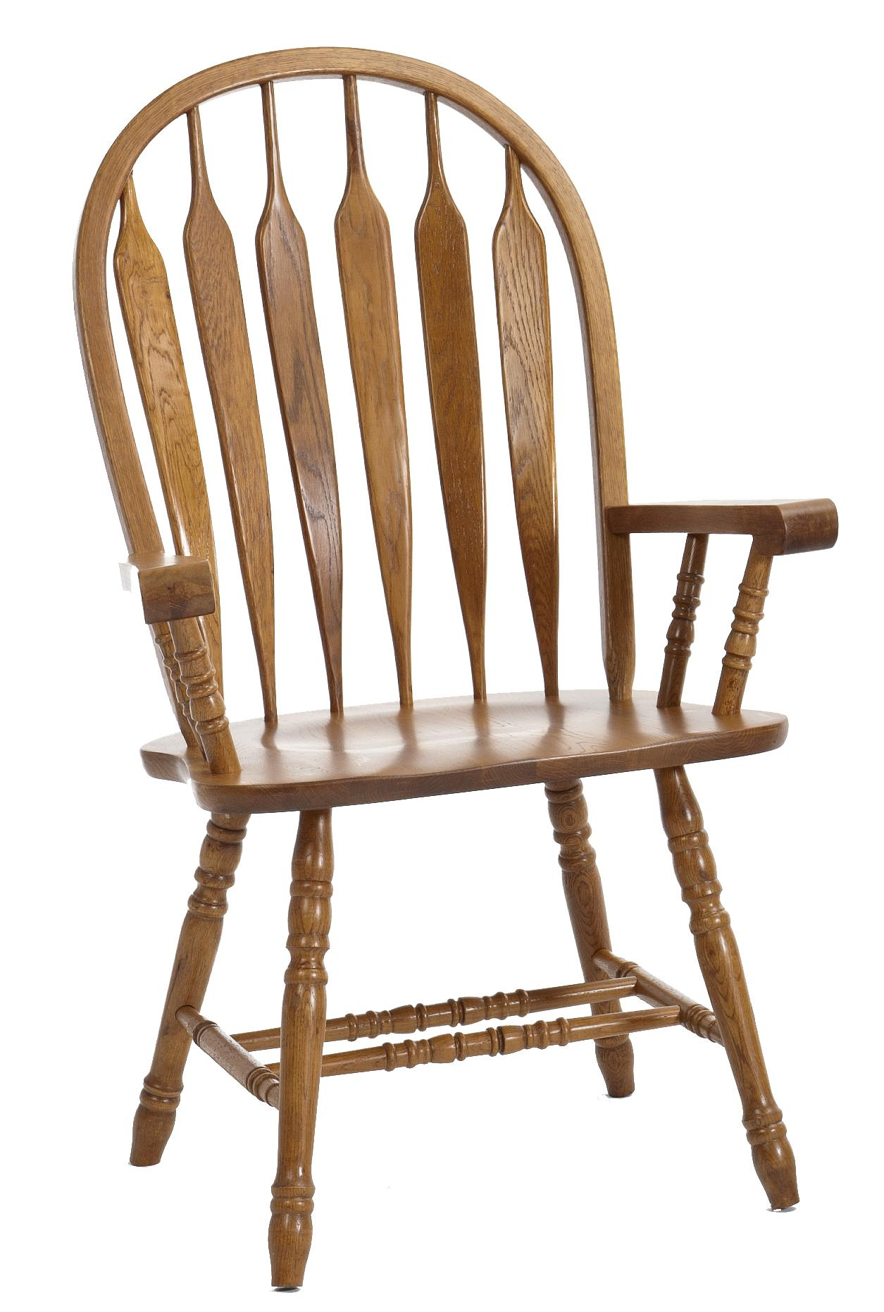 Classic Oak Dining Arm Chair by Intercon at Dinette Depot