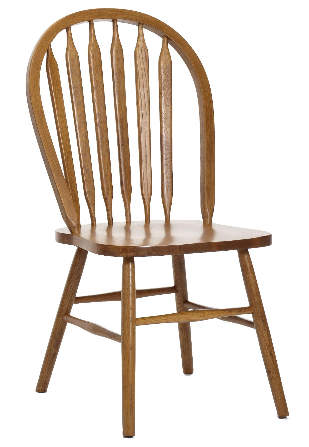 Classic Oak Dining Side Chair by Intercon at Rife's Home Furniture