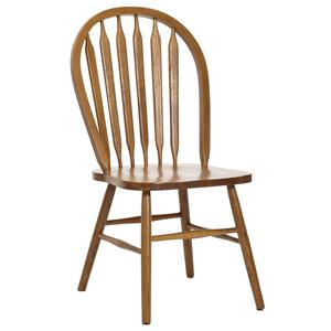 Plain Arrow Back Dining Side Chair