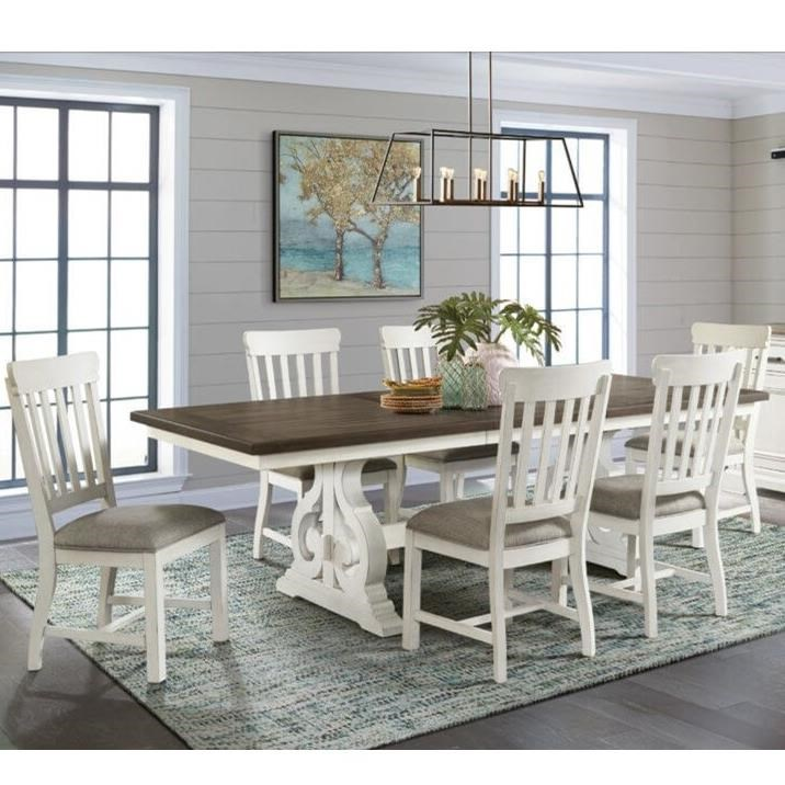 Drake 7-Piece Table and Chair Set by VFM Signature at Virginia Furniture Market