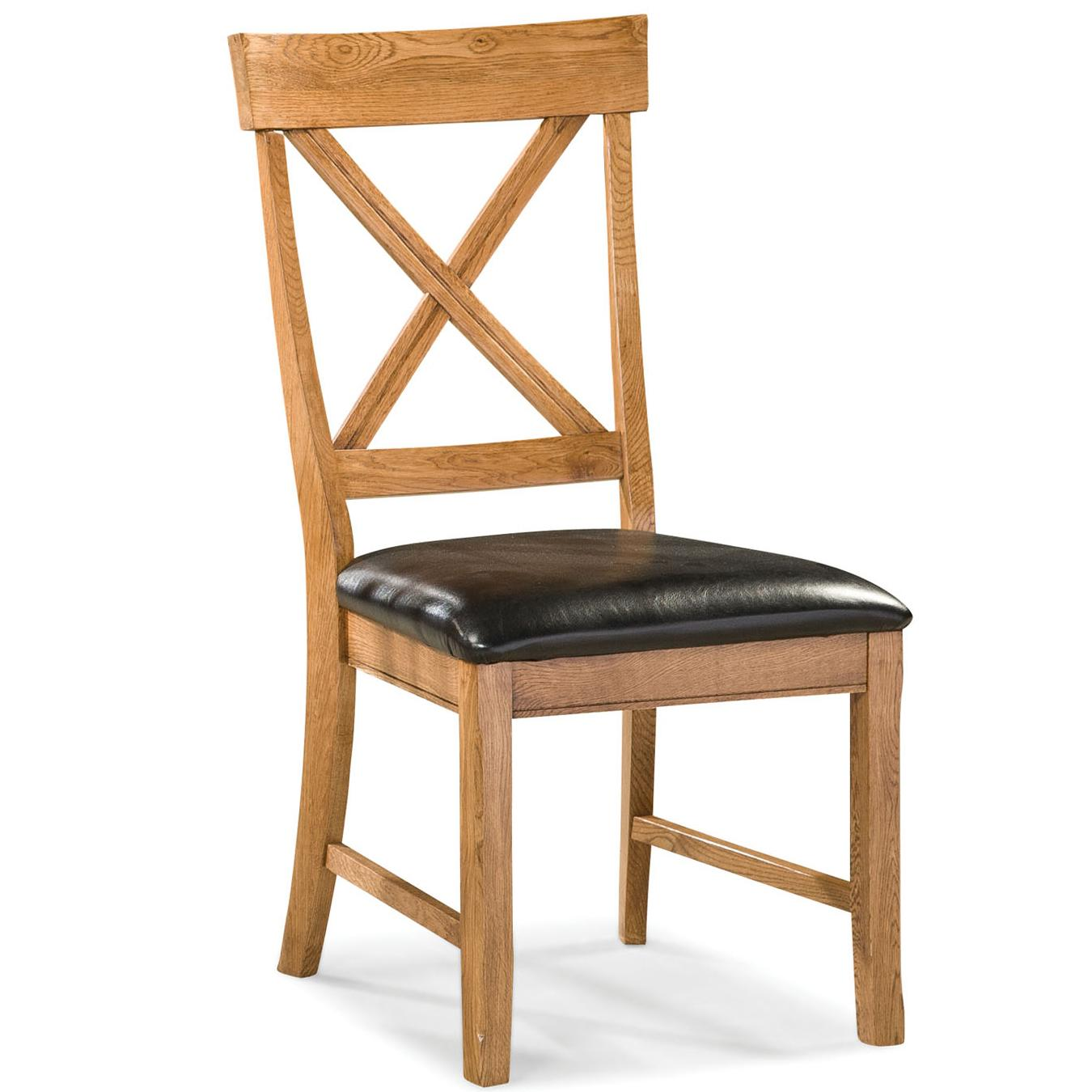 Family Dining Dining Chair with X-Back by Intercon at Dinette Depot