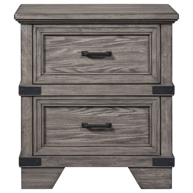 Forge Nightstand by Intercon at Rife's Home Furniture