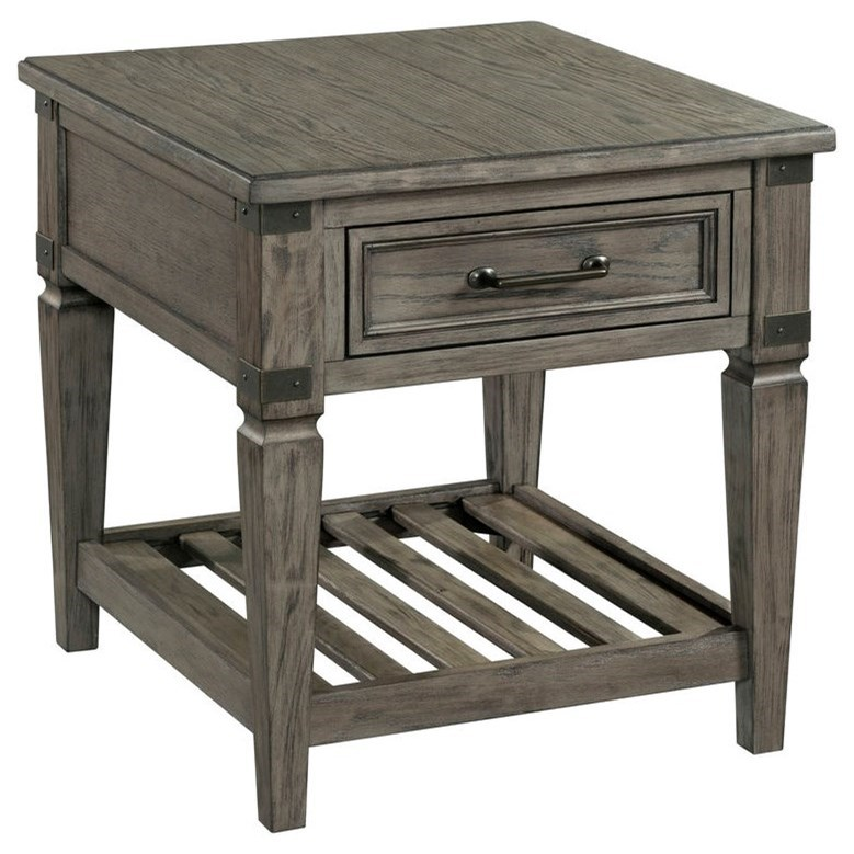 Foundry End Table by Intercon at Rife's Home Furniture