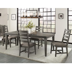 5 Pc Dining Set with Removable Leaf