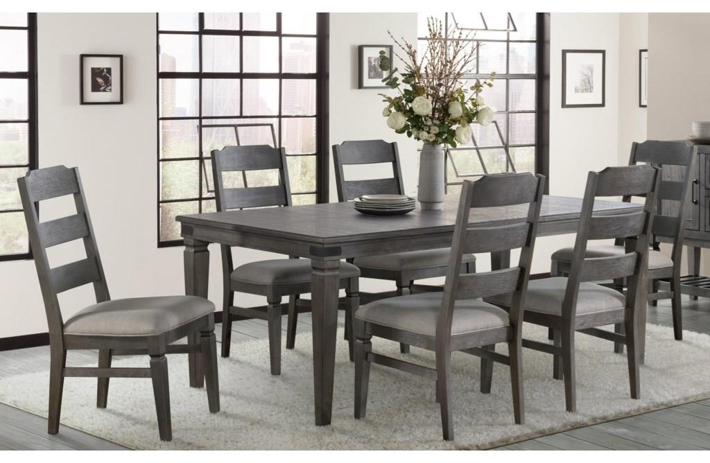 Foundry 5-Piece Table and Chair Set by Intercon at Wayside Furniture