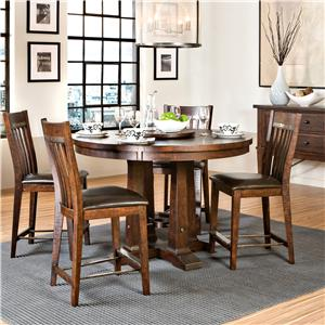 Intercon Hayden Gathering Table & Stool Set