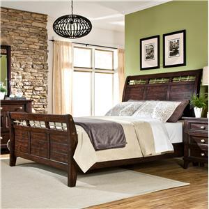 Intercon Hayden King Sleigh Bed