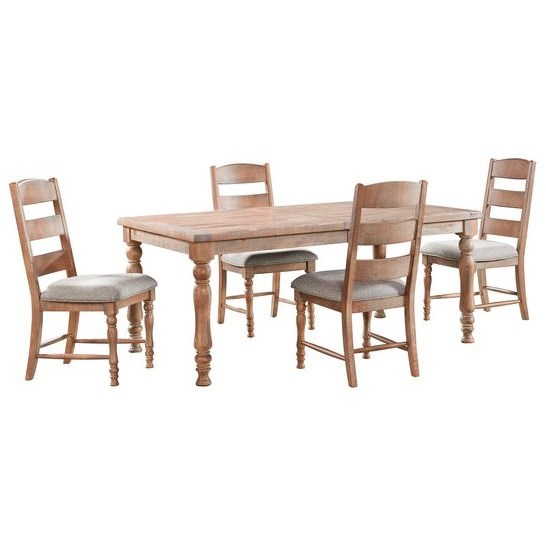 Highland 5-Piece Table and Chair Set by Intercon at Goffena Furniture & Mattress Center