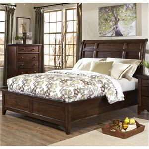 Intercon Jackson Queen Sleigh Bed