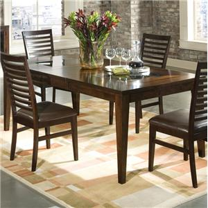 Intercon Kashi Kashi Dining Table with Glass Inlays