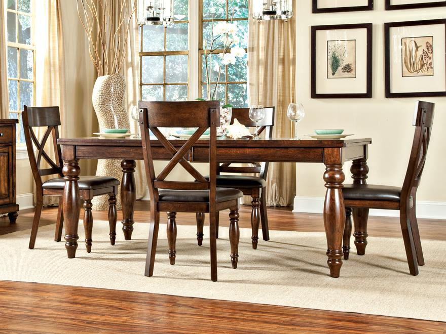 Caprice Caprice Table + 4 Chairs  at Walker's Furniture