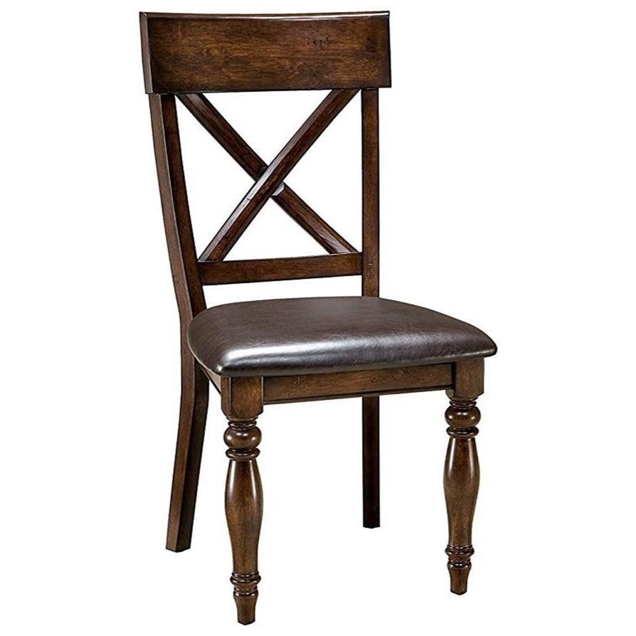 Kona Side Chair by Intercon at Fisher Home Furnishings