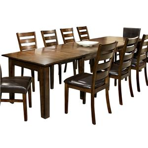 Intercon Kona Dining Table with 3 Leaves