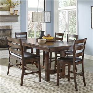 Intercon Kona Counter Height Dining Set