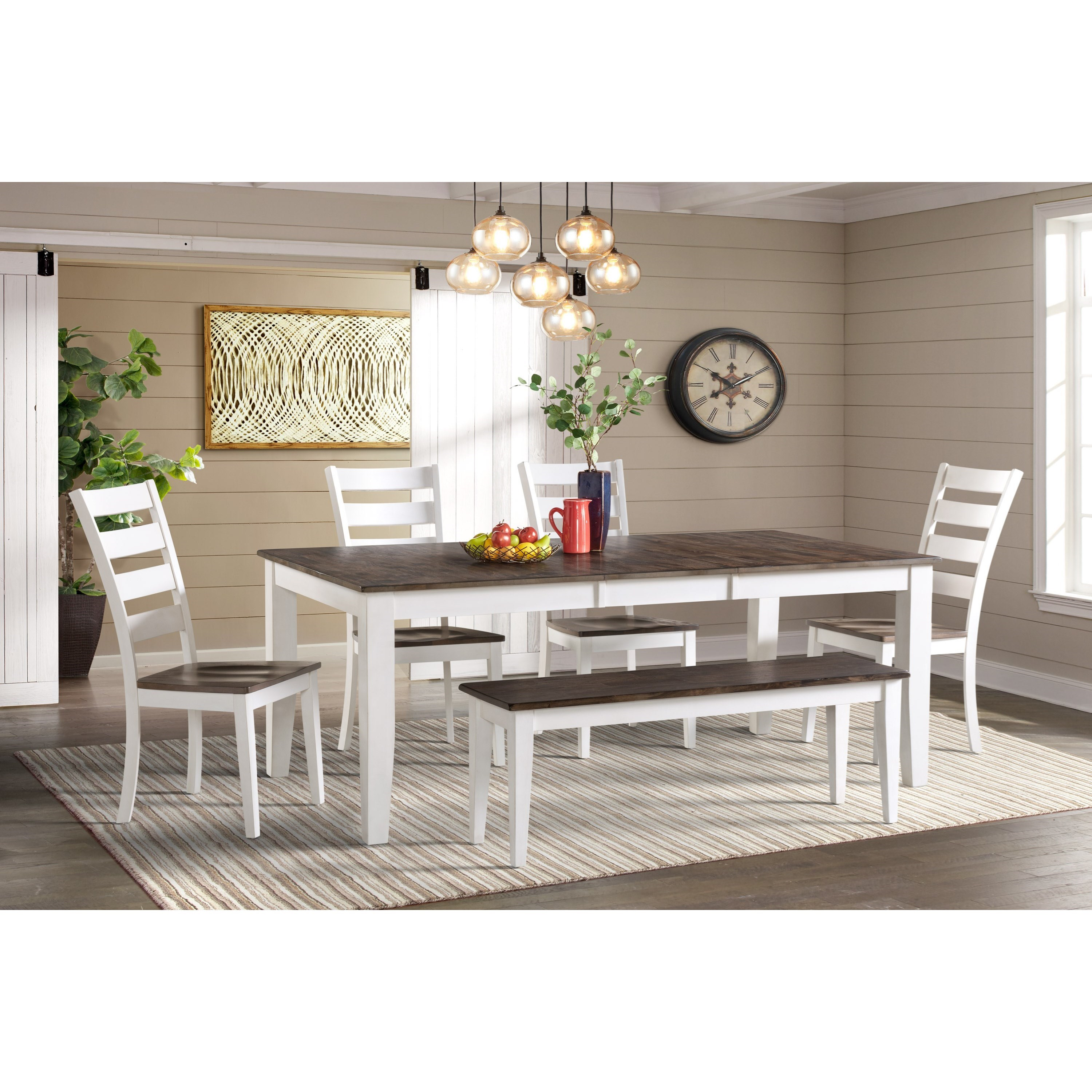 Kona 6-Piece Dining Room Set by Intercon at Dinette Depot