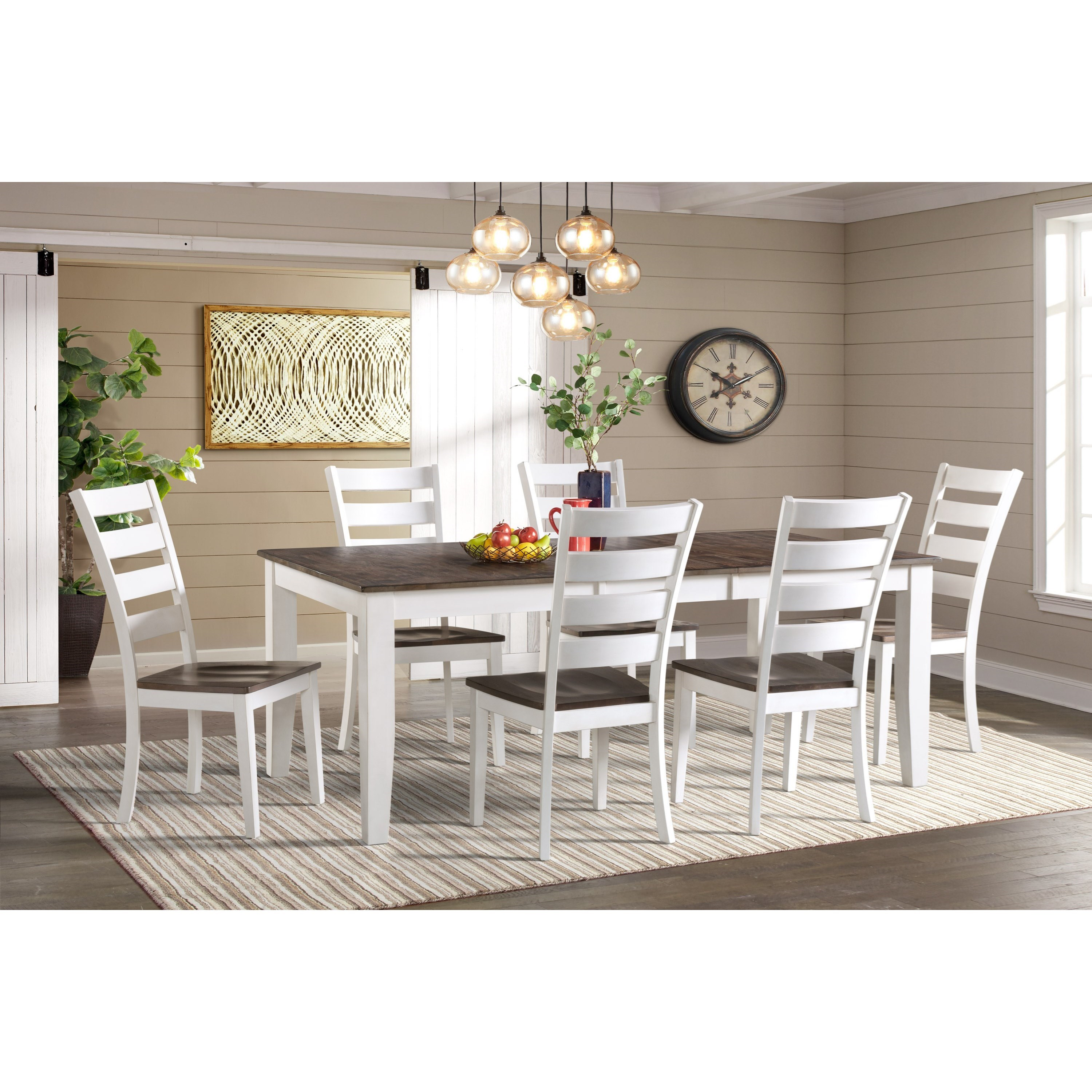 Kona 7-Piece Dining Room Set by Intercon at Dinette Depot
