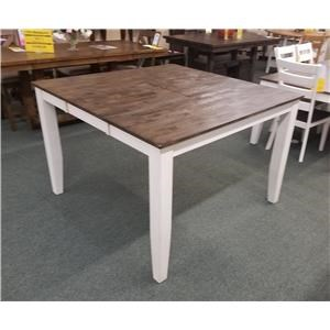 Solid Mango Gathering Table with Butterfly Leaf