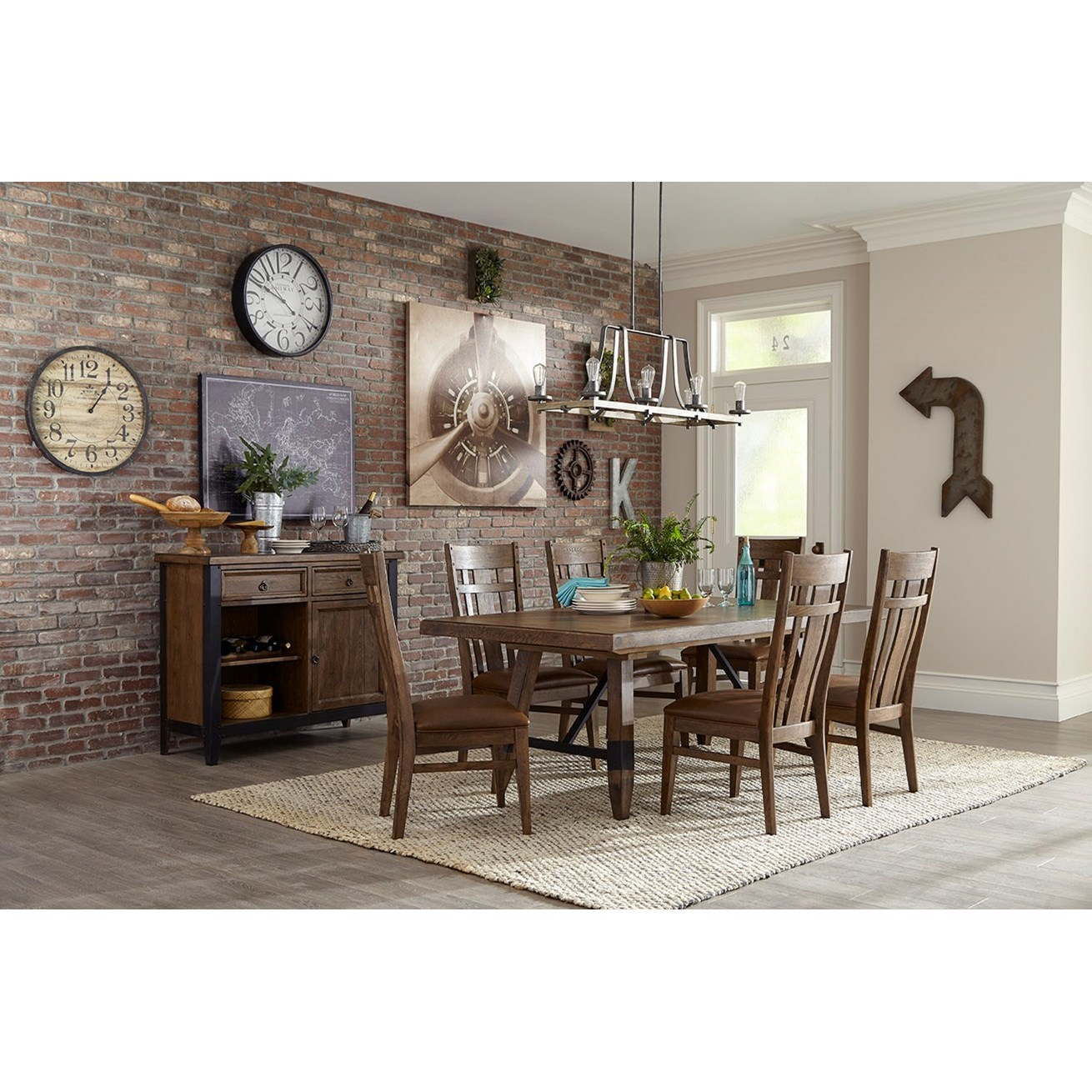 River Dining Room Group by VFM Signature at Virginia Furniture Market