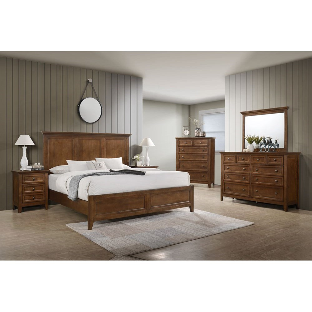 Tolson King Bedroom Group at Walker's Furniture