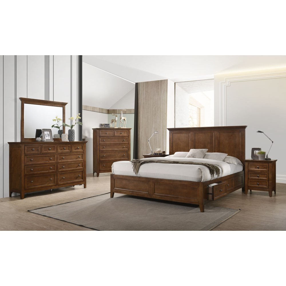 Tolson 5 Piece King Bedroom Group at Walker's Furniture