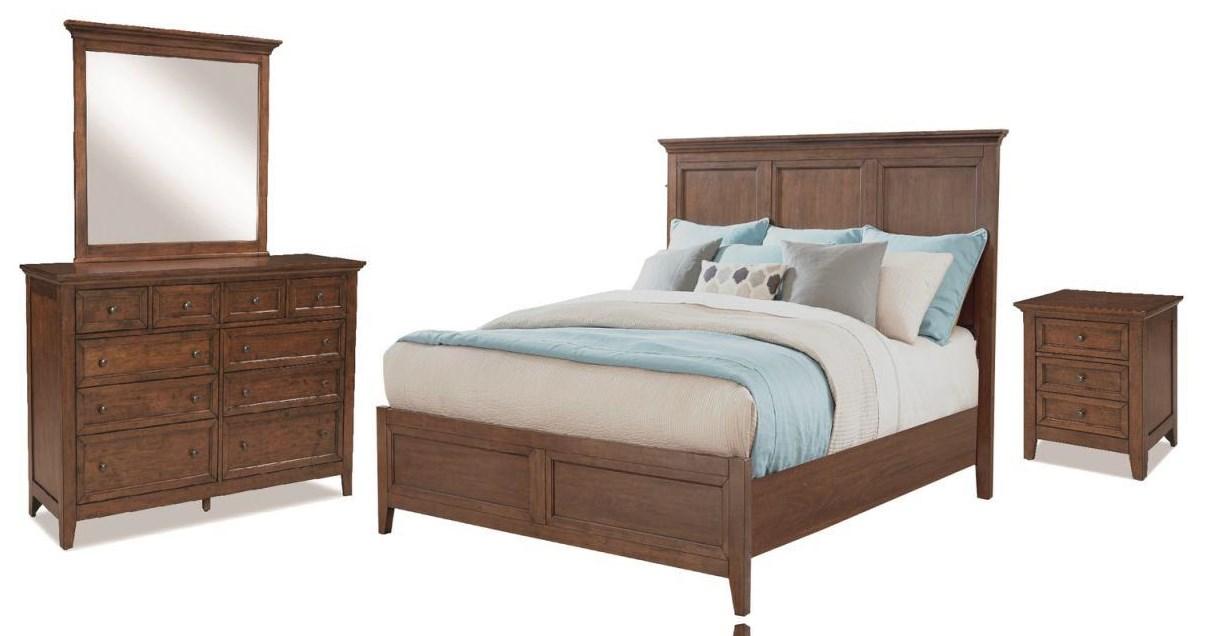 Tolson 4 Piece Queen Bedroom at Walker's Furniture
