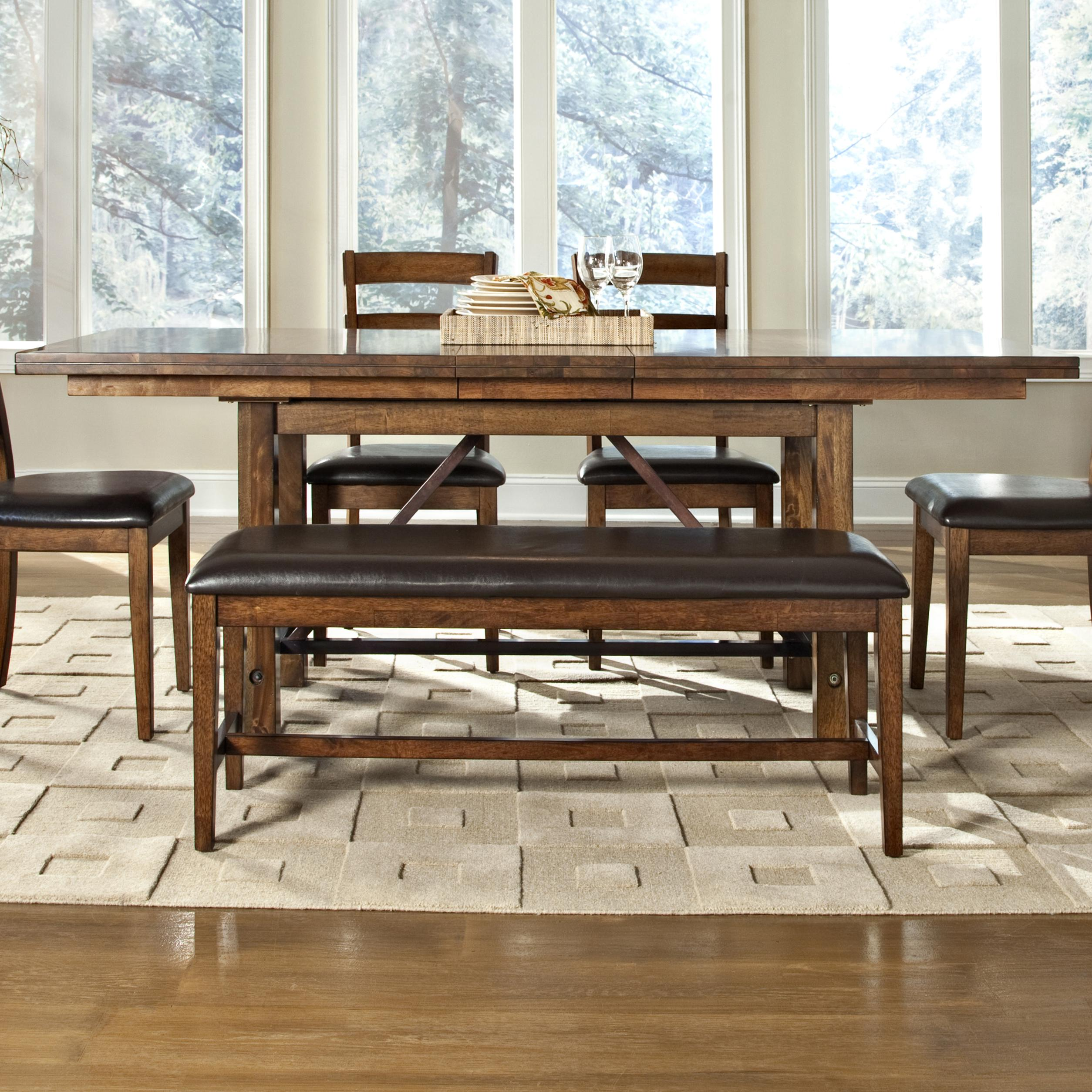 Santa Clara Dining Table by Intercon at Fisher Home Furnishings