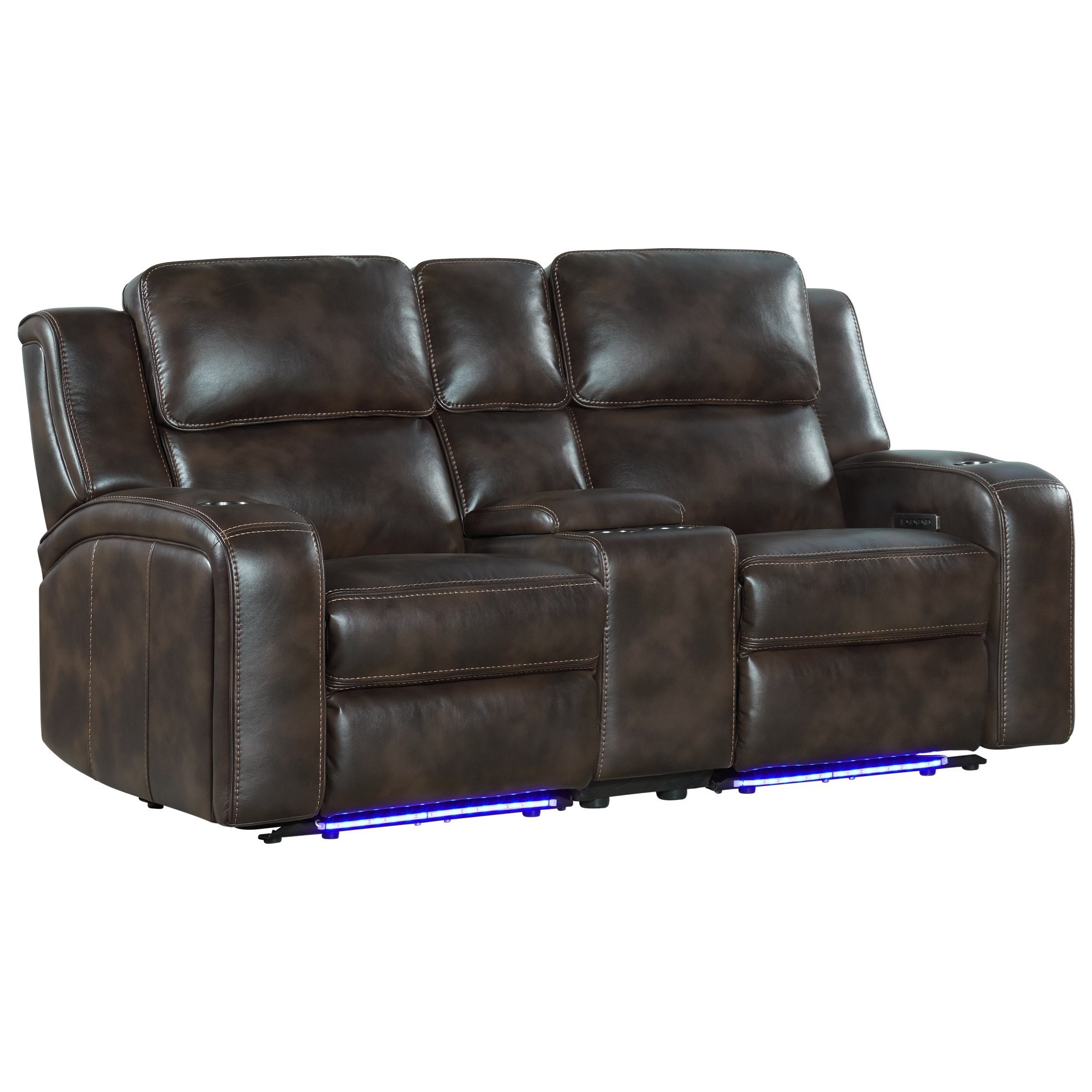Silhouette Power Reclining Loveseat by Intercon at Rife's Home Furniture