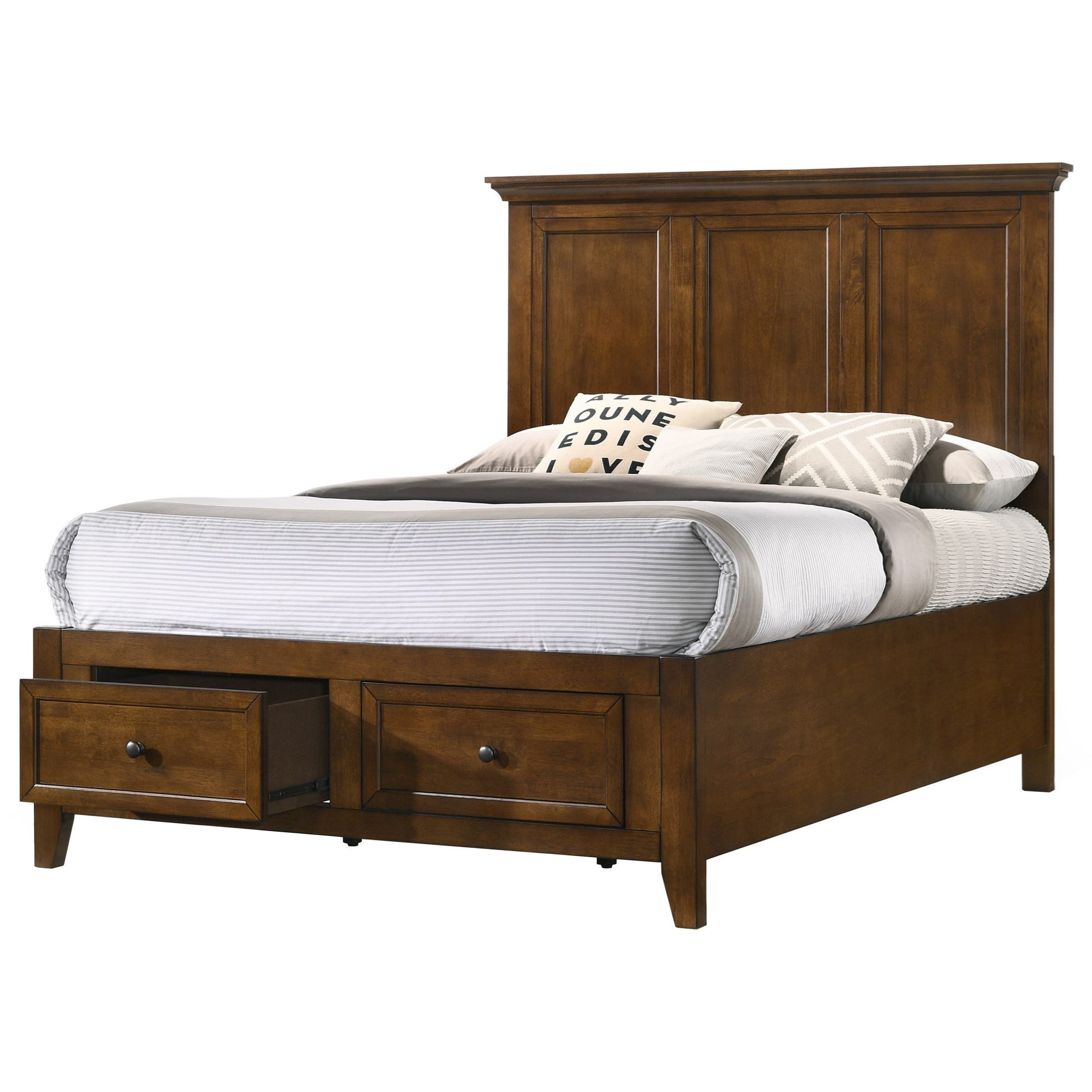 San Mateo Youth Youth Full Storage Panel Bed by Intercon at Fisher Home Furnishings