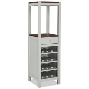 Vertical Wine and Dining Storage Cabinet