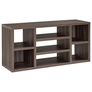Contemporary Console with 7 Shelves