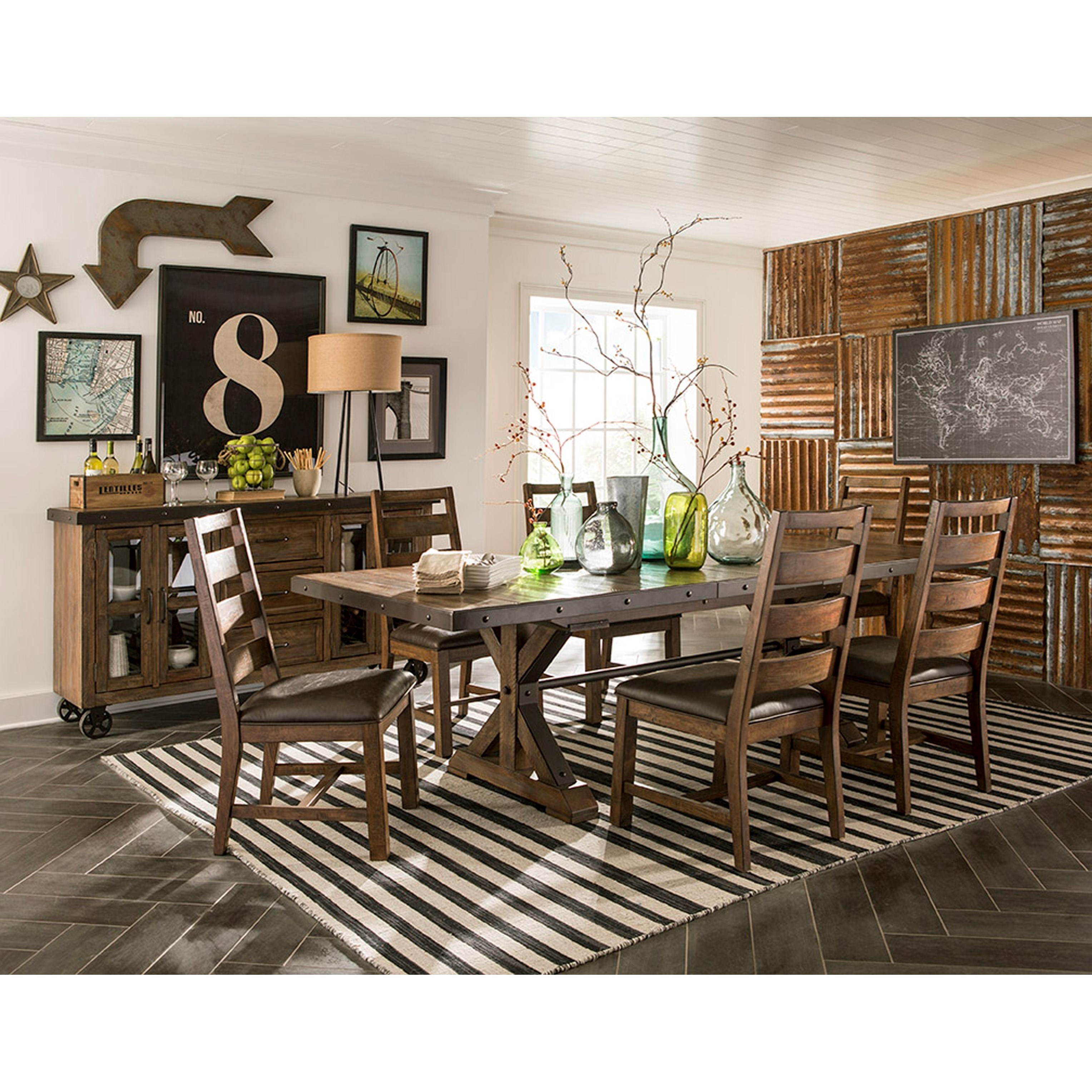 Taos Dining Room Group by VFM Signature at Virginia Furniture Market