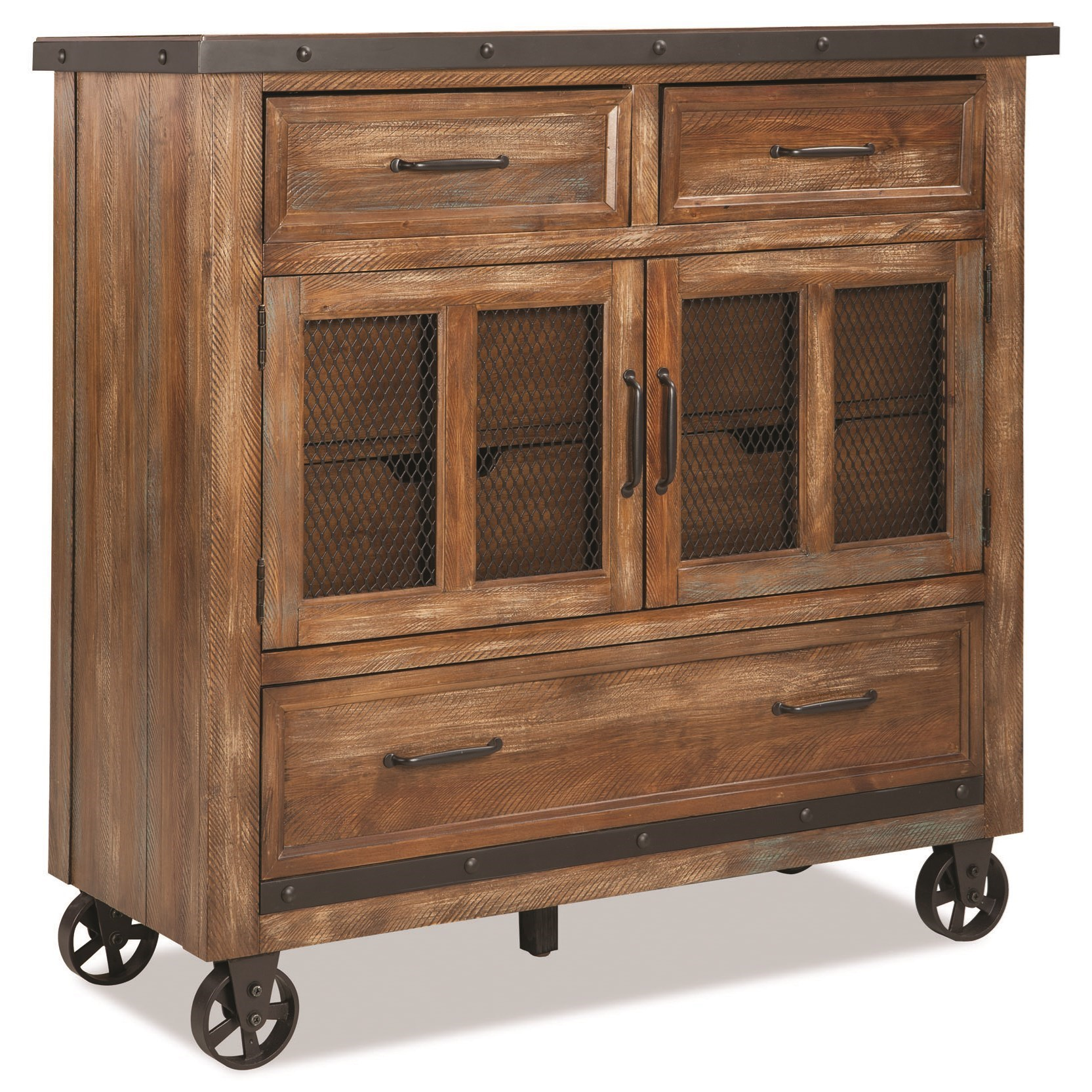 Taos Media Chest by Intercon at Fisher Home Furnishings