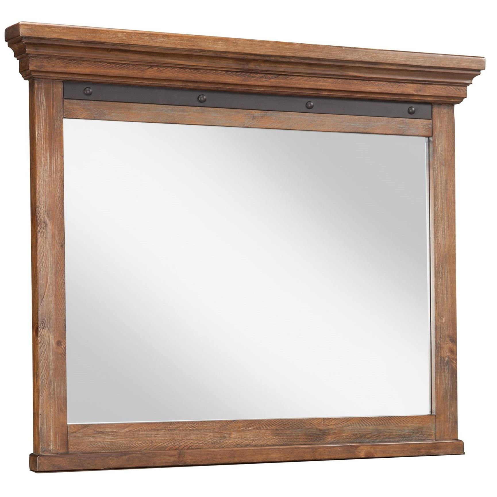 Taos Dresser Mirror by Intercon at Rife's Home Furniture