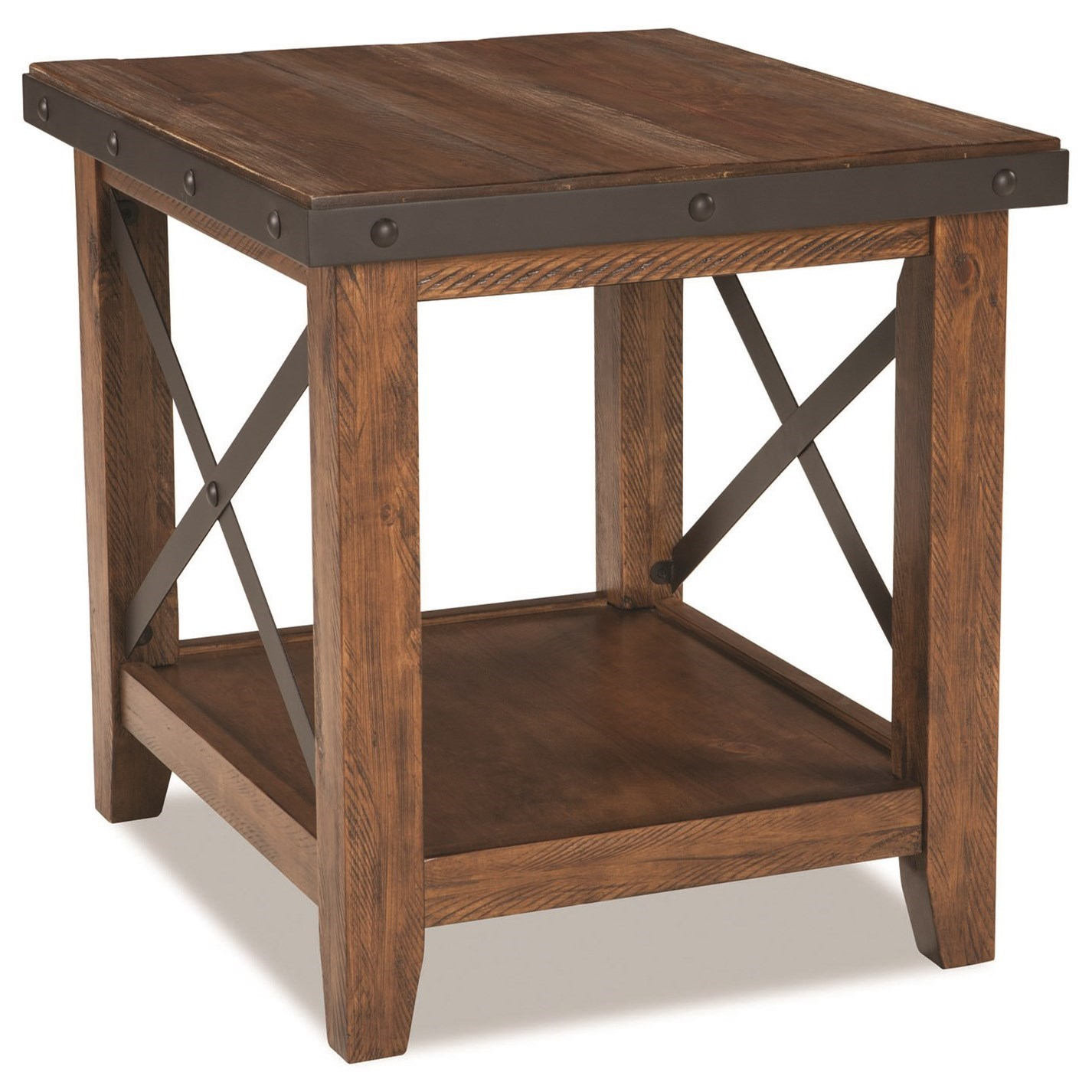 Taos End Table by Intercon at Fisher Home Furnishings