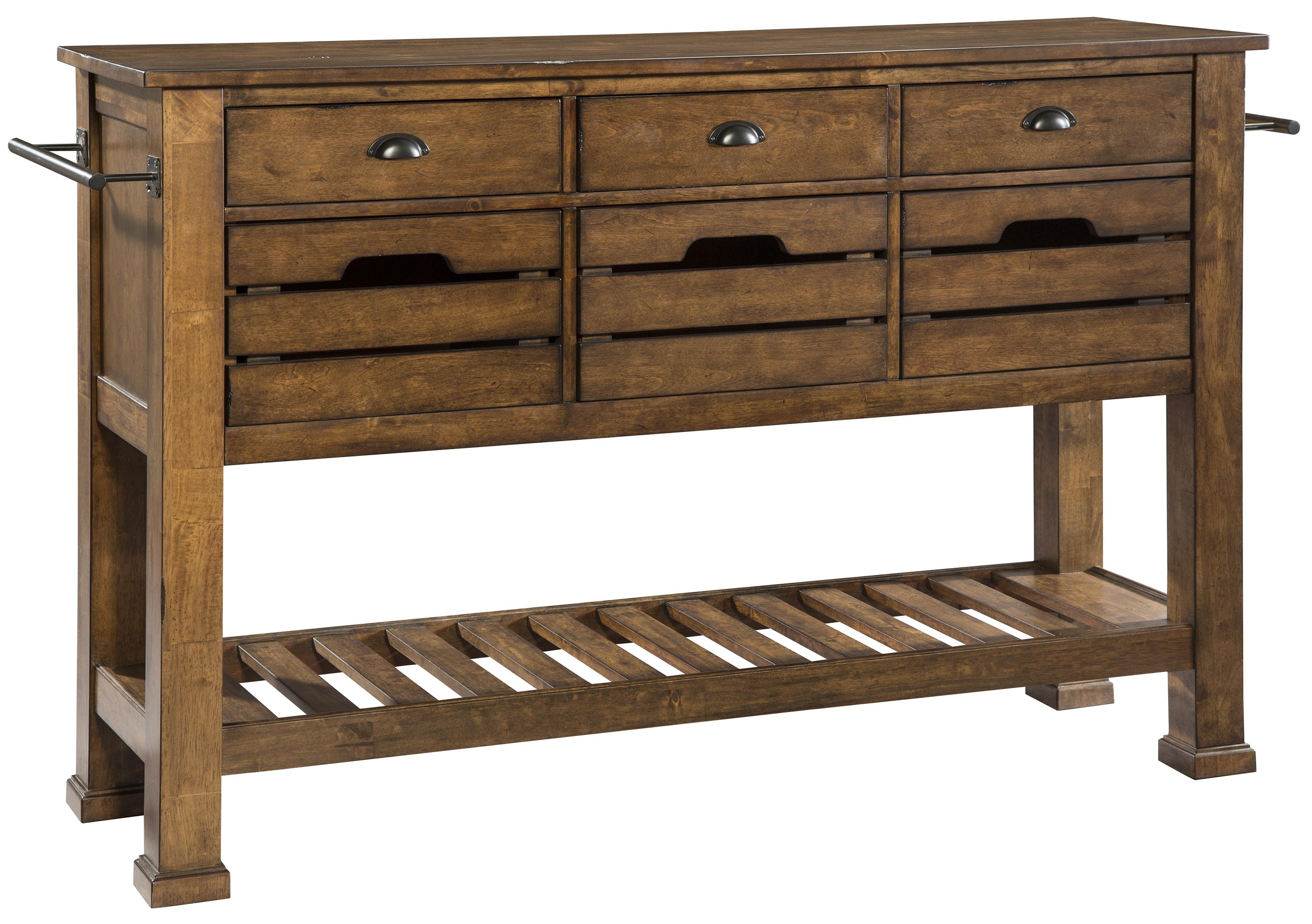 The District Sideboard by Intercon at Darvin Furniture