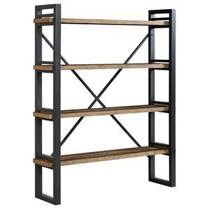 Rustic Baker's Rack with 4 Shelves