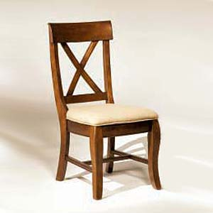 Intercon Verona X-Back Side Chair